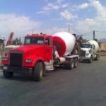 ASAP concrete truck