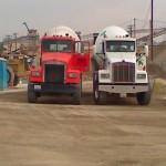 Two Concrete Trucks
